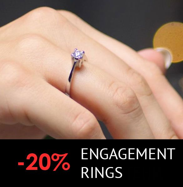 Engagement rings - 20% off